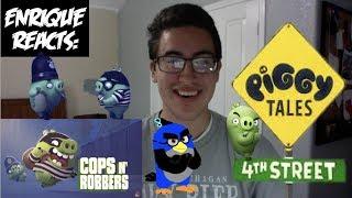 "Enrique Zuniga Jr. Reacts to: ""Piggy Tales: 4th Street - S4, E5 - Cops N' Robbers"""