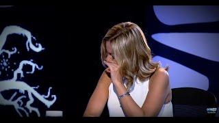 """أنهيار """"ريم البارودي"""" من البكاء بسبب سؤال سالي عبد السلام في الحلقة القادمة من """"المتوحشة"""" !"""