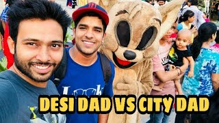 Desi Dad Vs City Dad || Feat BakLol Video And Pardeep Khera