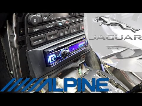 Xxx Mp4 Jaguar XKR FULL SOUND SYSTEM INSTALL Stereo Type X Components Part 1 4 3gp Sex