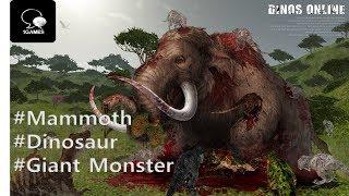 Mammoth In Dinosaurs_Epic Dinosaur game, Dinos online