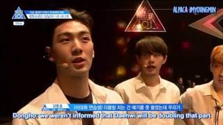 [ENG] Produce 101 Season 2 EP 4 | Boy In Luv Team 2