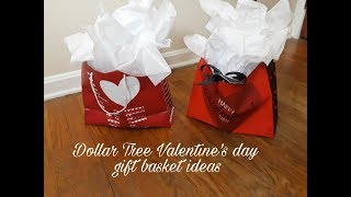Useful Dollar Tree Valentines Day gift basket ideas for that special guy