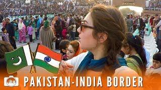 PAKISTAN INDIA WAGAH BORDER CEREMONY | Lahore (Pakistan #12)