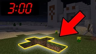 Playing Minecraft Pocket Edition at 3:00 AM using the SEED 666!!!