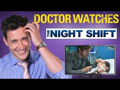 Xxx Mp4 Real Doctor Reacts To THE NIGHT SHIFT Medical Drama Review Doctor Mike 3gp Sex