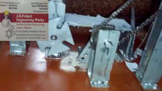 Geneva mechanism use paper & sheet cutting machin