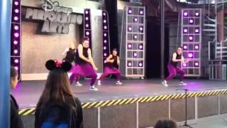 Wings- Extreme Dance onstage @ Disney