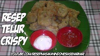 resep telur crispy renyah dan gurih