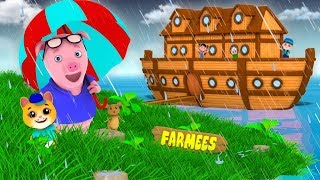 Animals Went In Two By Two | Nursery Rhymes For Kids by Farmees