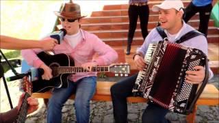 Márcio Rech  e Ederson Scheuermann cantando ÚLTIMO ADEUS  e TELEFONE MUDO 16  08 13