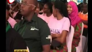 Mama Magufuli Ajitolea Kwa Wazee Na Walemavu