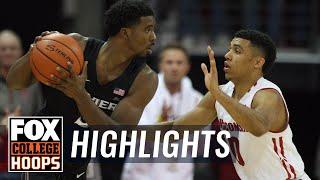 Xavier vs Wisconsin | Highlights | FOX COLLEGE HOOPS