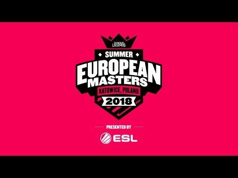 Xxx Mp4 EU Masters Summer Season 2018 Group Stage Day 4 3gp Sex