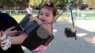 BABY FLYING AT THE PARK!!!