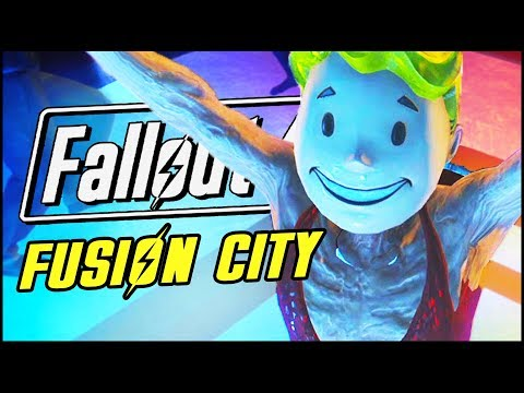 GETTING FREAKY IN FUSION CITY | Fallout 4 Fusion City Mod