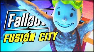 GETTING FREAKY IN FUSION CITY | Fallout 4 Funny Moments & Mods