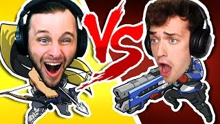 WHO IS THE BEST PEW PEWER | OVERWATCH One vs One