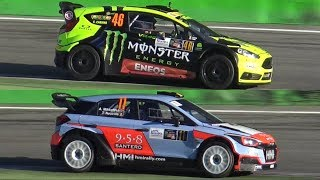 Valentino Rossi Vs. Thierry Neuville - 2017 Monza Rally Show