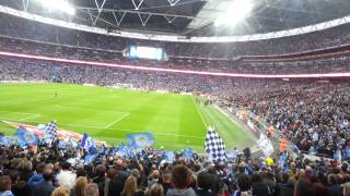 Wigan v Man City FA Cup Final winning goal and final minutes