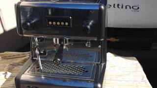 La Scala 1 Group Espresso Machine Overview of Functions
