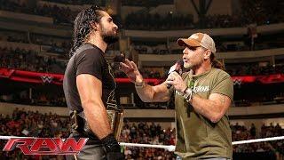 Seth Rollins interrupts Shawn Michaels: Raw, October 19, 2015