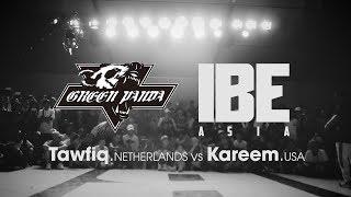 Tawfiq (NLD) vs Kareem (USA) ► .stance x Green Panda ◄ IBE Asia 2017