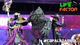 #copalatamlol #LeagueOfLegends - Concurso Final de Cosplay CLS 2016