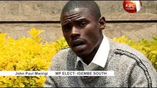 Journey of 23 year-old MP elect John Paul Mwirigi