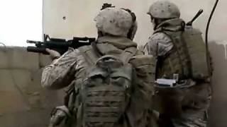 U.S. Marines Battle Enemy Forces In Ramadi, Iraq