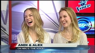 The Voice Andi and Alex - Part 1
