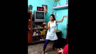 Sampa's Home Dance Perfomance on 06.02.2015 with Satyam Sivam Sundaram Song