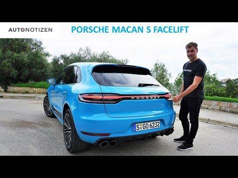 Porsche Macan S 2019 Facelift 260 kW 354 PS Review Testfahrt Fahrbericht