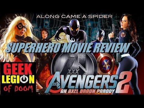 Xxx Mp4 AVENGERS XXX 2 2015 Porn Parody Superhero Movie Review 3gp Sex