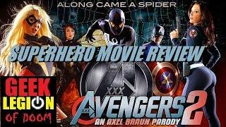 AVENGERS XXX 2 ( 2015 ) Porn Parody Superhero Movie Review