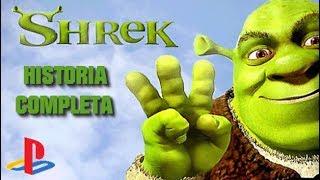 Shrek Tercero Pelicula del Videojuego Completa en Español (PS2)