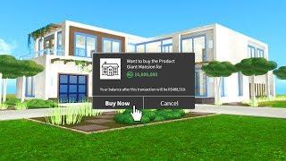 MY 10,000,000R$ ROBLOX HOUSE