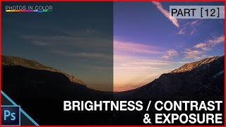 Photoshop Brighten a picture - Brightness, contrast and exposure Tutorial