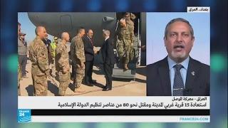أمير الساعدي يتحدث عن تقدم القوات العراقية غربي الموصل
