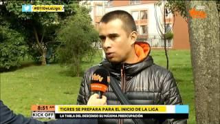 John Jairo Bodmer, DT de Tigres en Kick Off   Win Sports