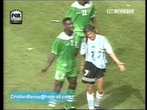 Argentina 2 Nigeria 1 Mundial 1994 Los goles