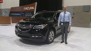 2016 Acura MDX Review - Comparing the MDX to the 2016 Honda Pilot