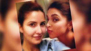 Katrina Kaif Clicks SELFIE With Deepika Padukone