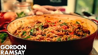 Spicy Sausage Rice by Gordon Ramsay