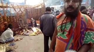 Naga Baba or Sadhu Before Ganga Sagar Mela 2016, Kolkata (Part 1)