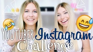 YouTuber Instagram CHALLENGE - mit BibisBeautyPalace   Dagi Bee