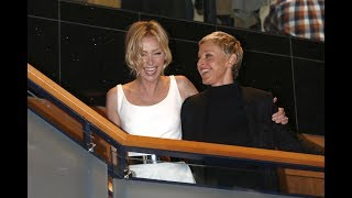 Ellen DeGeneres and her beautiful wife Portia DeRossi at People choice Awards 2016