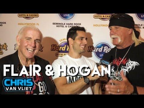 Xxx Mp4 Hulk Hogan On His WWE Return Ric Flair On Charlotte Vs Rousey At WM35 3gp Sex