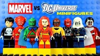LEGO Marvel vs DC Superheroes KnockOff Minifigures Set 8 w/ Dark Phoenix Luke Cage & The Flash