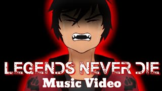 Legends Never Die - When Angels Fall / Emerald Secret 🎵Music Video🎵 ~For Aphmau~